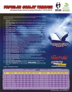 Kalender Ramadhan 1430 H